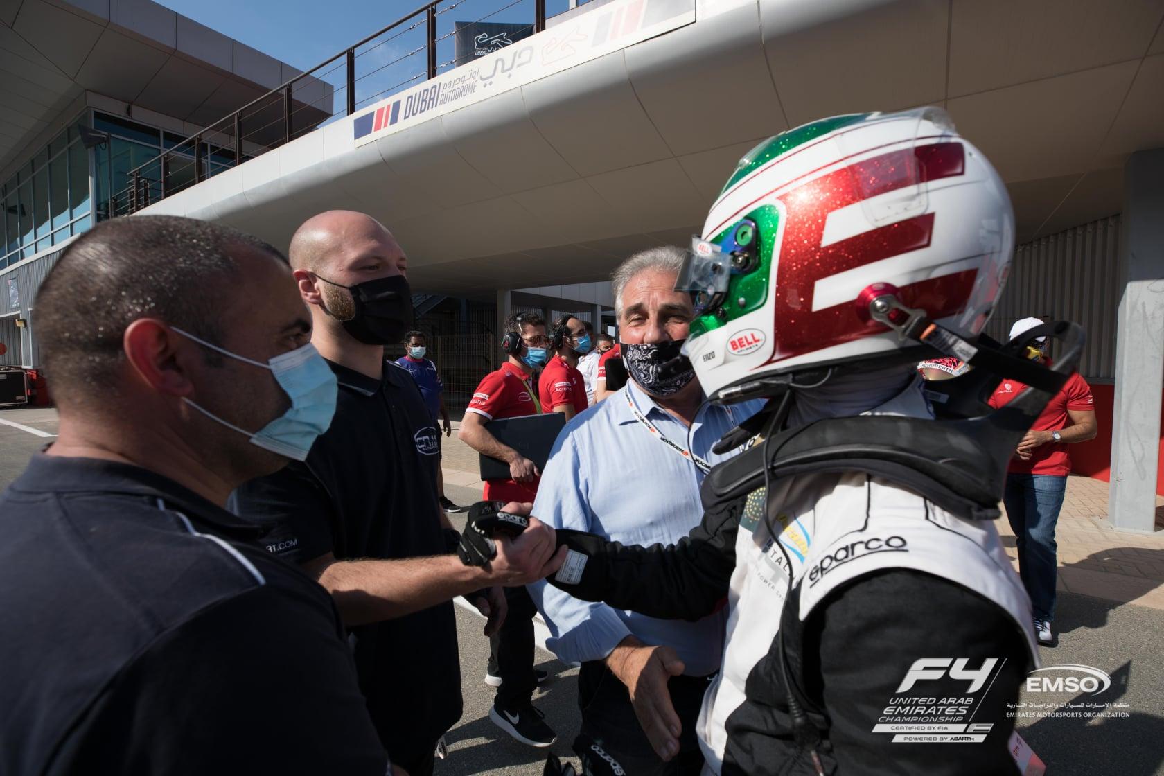 Enzo Trulli: «Primo weekend F4 bellissimo, ho provato tante emozioni! Sono felice di aver vinto!»