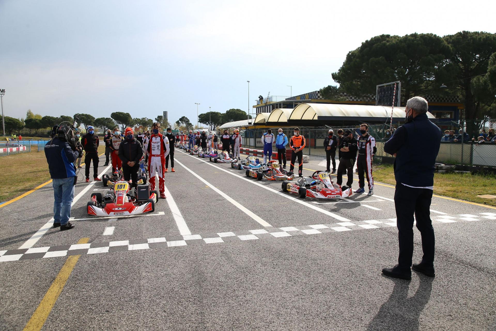 Anche Irlando e Piccini nel Campionato Italiano ACI Karting ad Adria