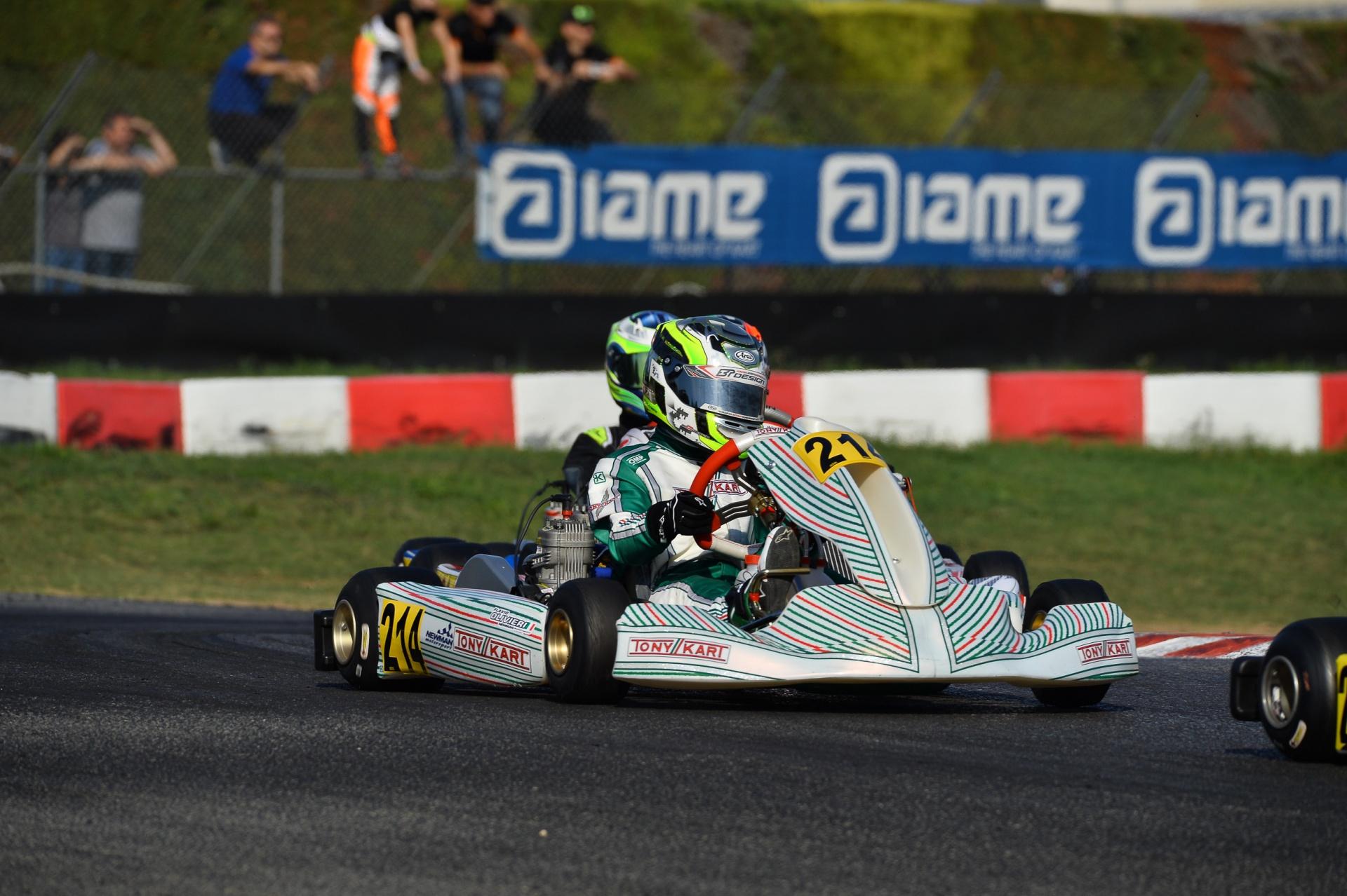 Flavio Olivieri subito in evidenza nel Trofeo d'Autunno