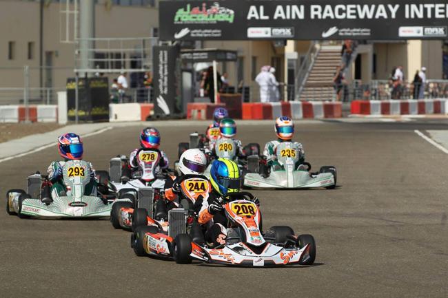 Sodi Racing Team ME at the Rotax Max Al Ain Invitational