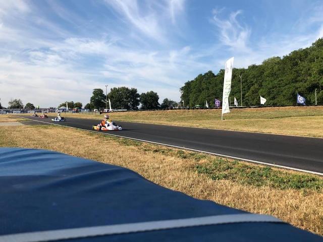 Campionato Europeo CIK FIA, Essay - Report sabato