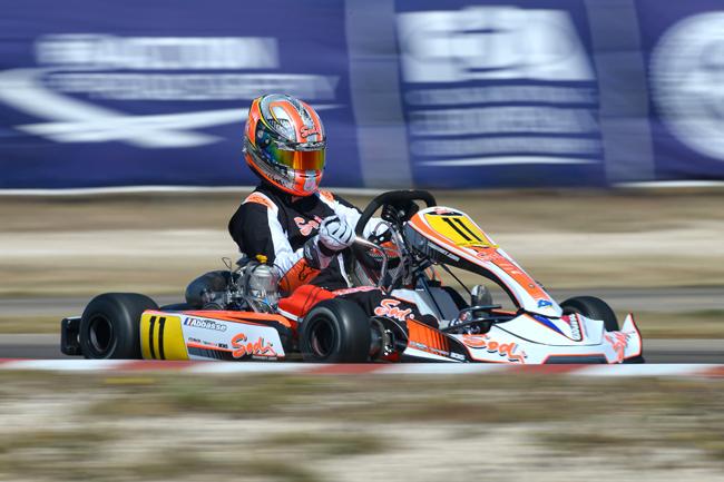 Lo schieramento Sodi Kart Racing Team per il 2016