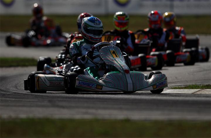 Podio mondiale per il Tony Kart Racing Team