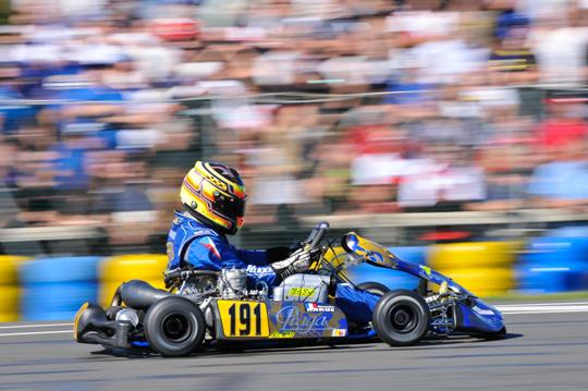 Praga Kart sul podio a Varennes