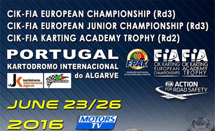 Entra nel vivo l'Europeo CIK-FIA OK e OK Junior