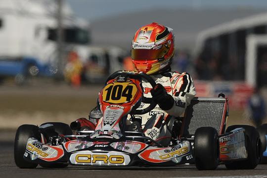 Tiene brilla nell'Europeo CIK-FIA in Spagna, Lennox nell'Euro Rotax in Italia