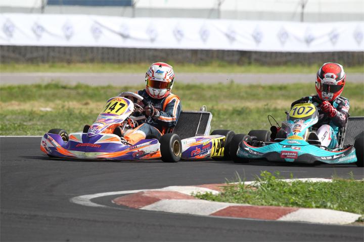 Celenta e Torsellini infiammano Sarno nella seconda prova del Campionato Italiano ACI Karting
