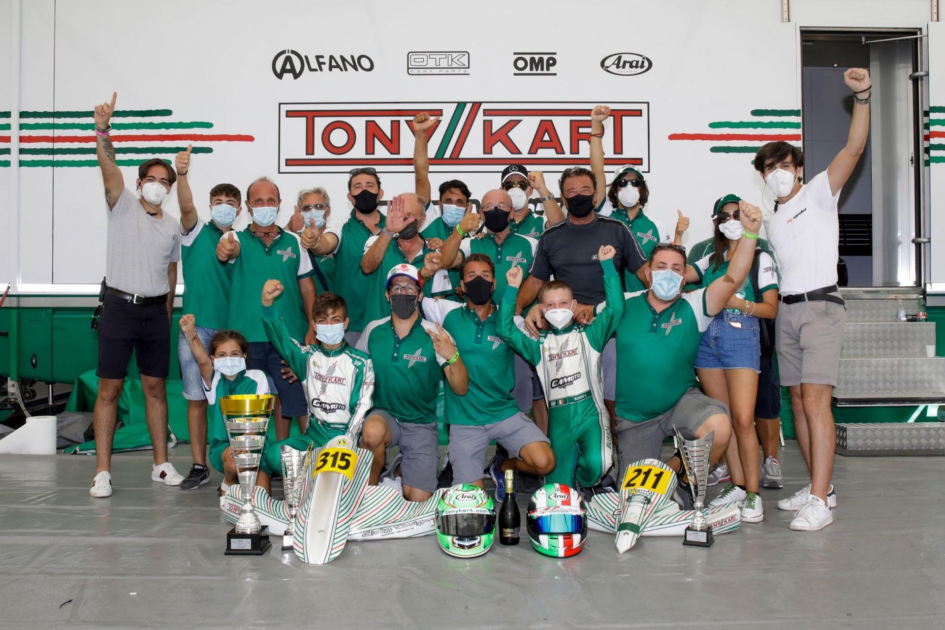 Doppio podio per Gamoto Kart a Sarno