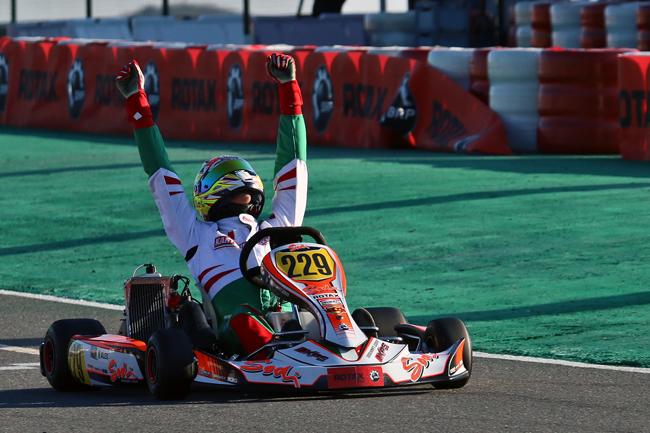 Storico trionfo di Alex nel Rotax Grand Finals