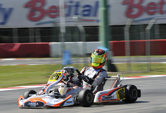Il Campionato Europeo CIK-FIA KF e KFJ lancia in testa alle classifiche Ilott e Ahmed