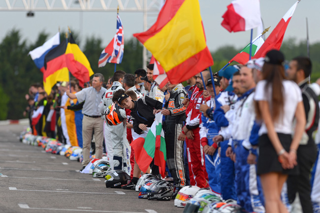 The great festival of world karting at Paris-Cormeilles