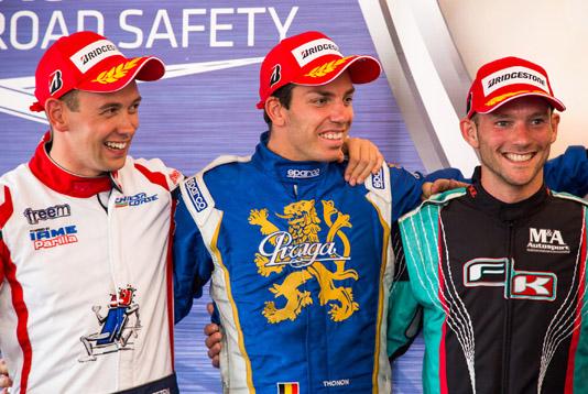 Dopo la tappa di Wackersdorf, diventano leader provvisori nell'Europeo CIK-FIA Dreezen e Juodvirsis