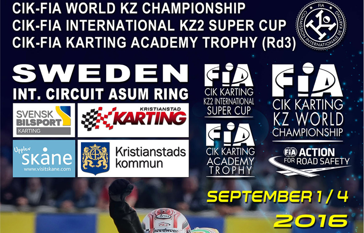 CIK-FIA KZ World Champs KZ - Int. KZ2 Super Cup - Academy Trophy