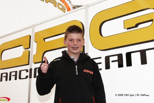 Max Verstappen, un altro campione dalla CRG alla Formula 1
