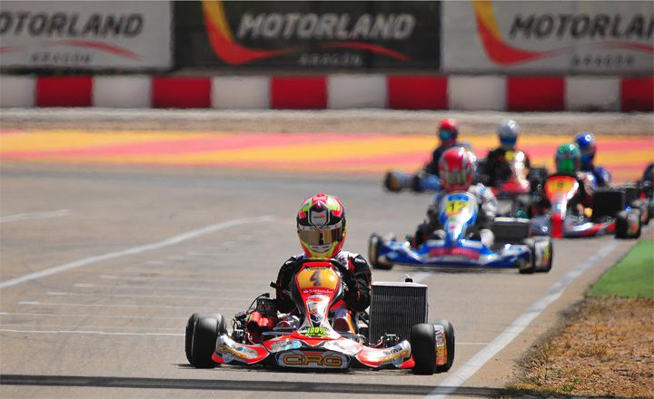 Pedro Hiltbrand su CRG-Maxter Campione di Spagna in KZ2