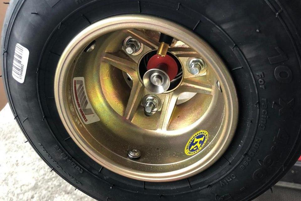 Cambio ruote da Formula 1