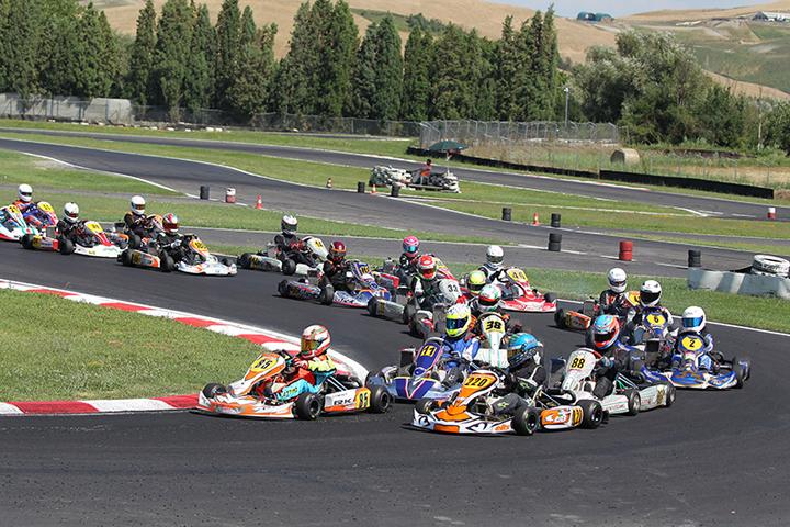 Finale Rotax Italia al Circuito di Siena nel weekend dell'1-2 ottobre 2016