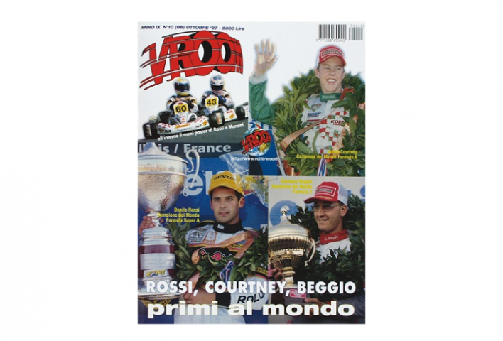 Throwback Karting – Salbris 1997, Rossi cala il poker