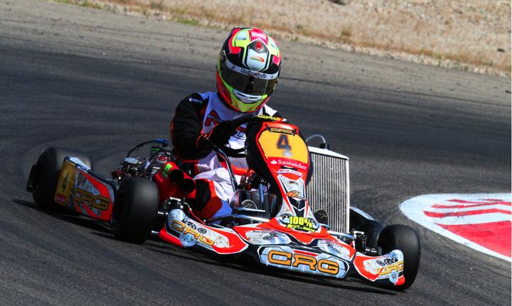Dominio CRG-Maxter nel campionato spagnolo  con Pedro Hiltbrand