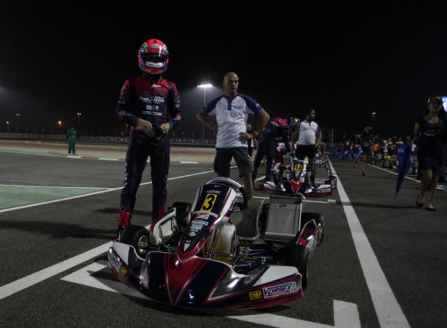 2° posto in OK e 3° in OKJ al mondiale in Bahrain