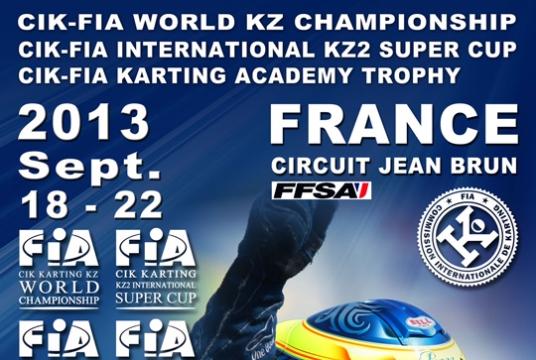 Appuntamento in Francia con il Campionato Mondiale CIK-FIA KZ e la International Super Cup KZ2