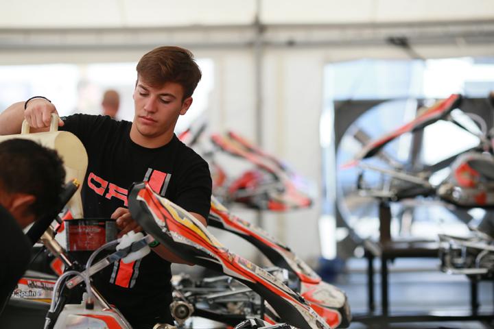 CRG, inizia il weekend del campionato europeo  di Portimao