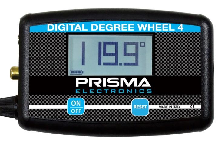 La Prisma Electronics presenta il nuovo goniometro digitale per la misura del diagramma nei motori a 2 e 4 tempi