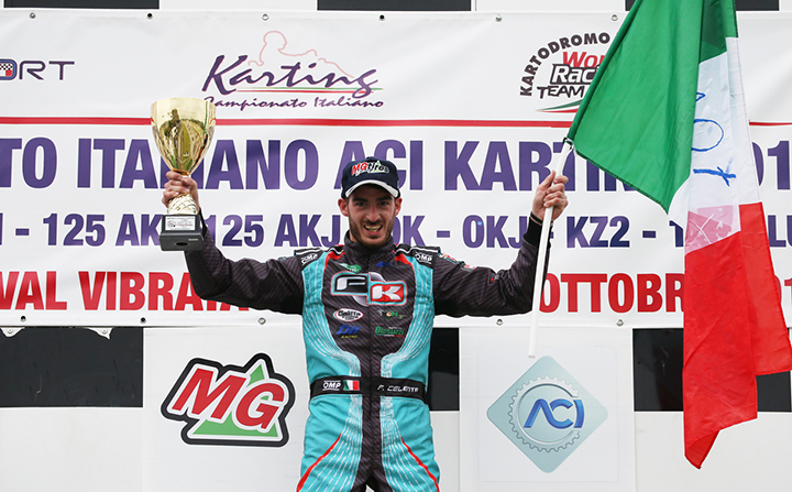Degno gran finale del Campionato Italiano  ACI Karting a Val Vibrata