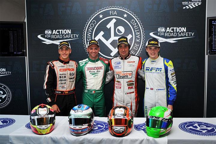 CIK-FIA European Championship OK - OKJ - KZ - KZ2 - Classifiche finali