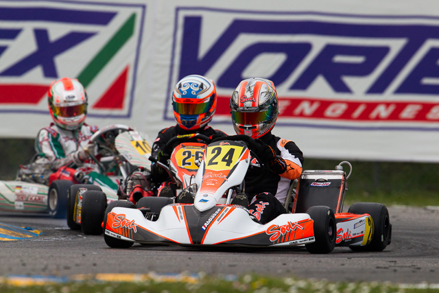 Sodi Kart domina la WSK Super Master Series