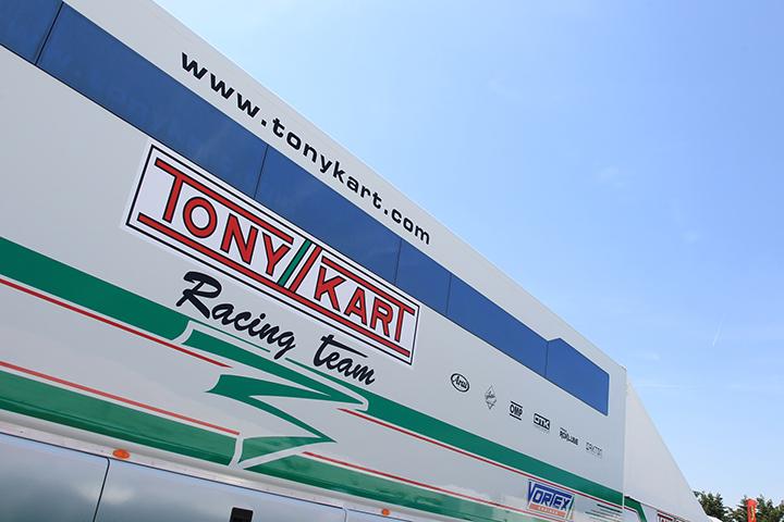 I nomi del Tony Kart Racing Team 2017