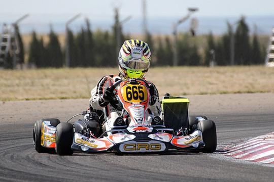 Nell'Euro Rotax di Zuera CRG sul podio con Lennox spettacolare in DD2