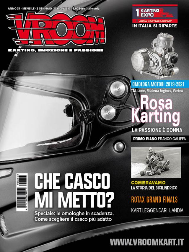 kart magazine cover italia