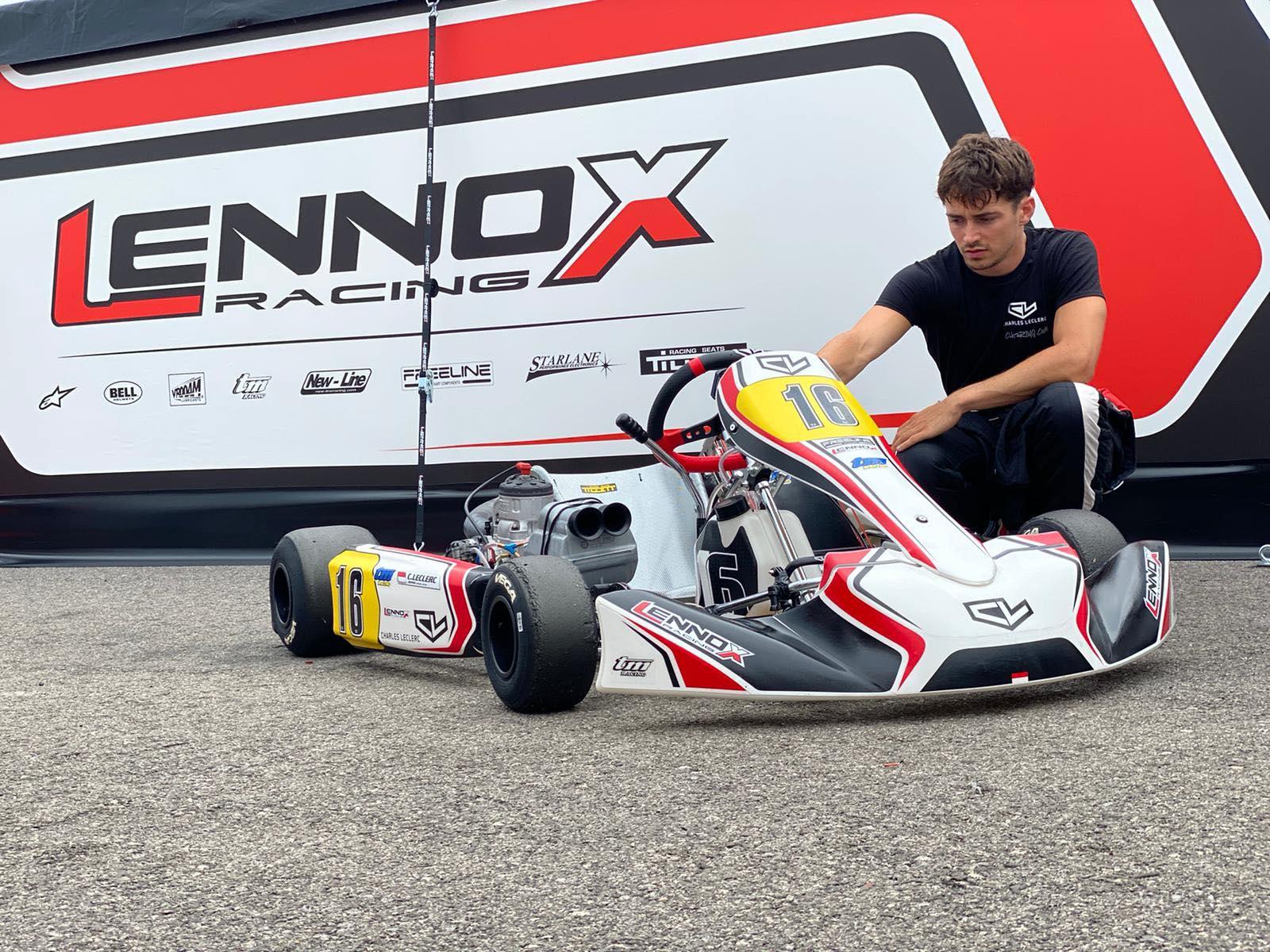 Leclerc torna in pista con il suo CL16
