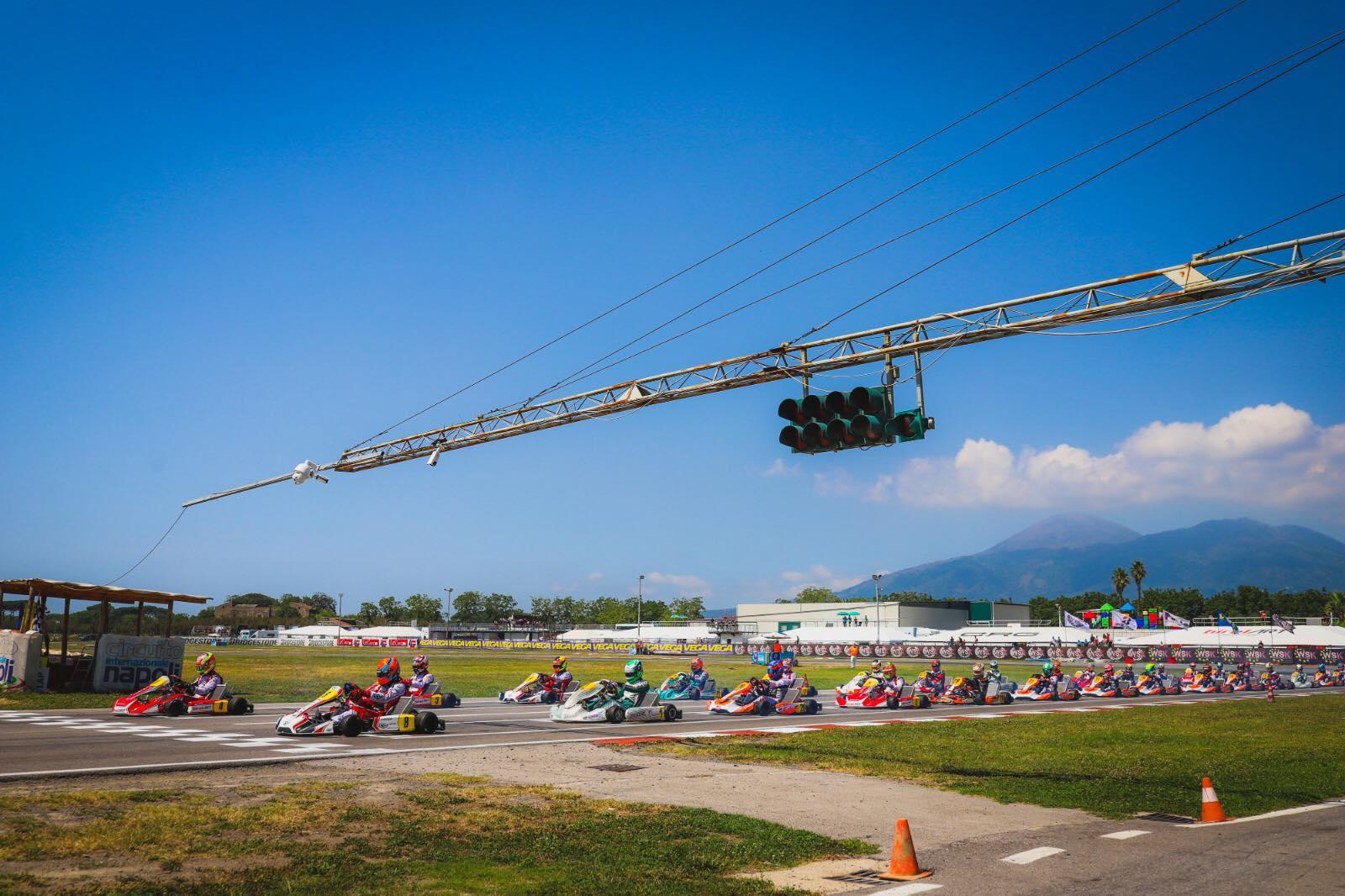 WSK Euro Series, Sarno – Heat