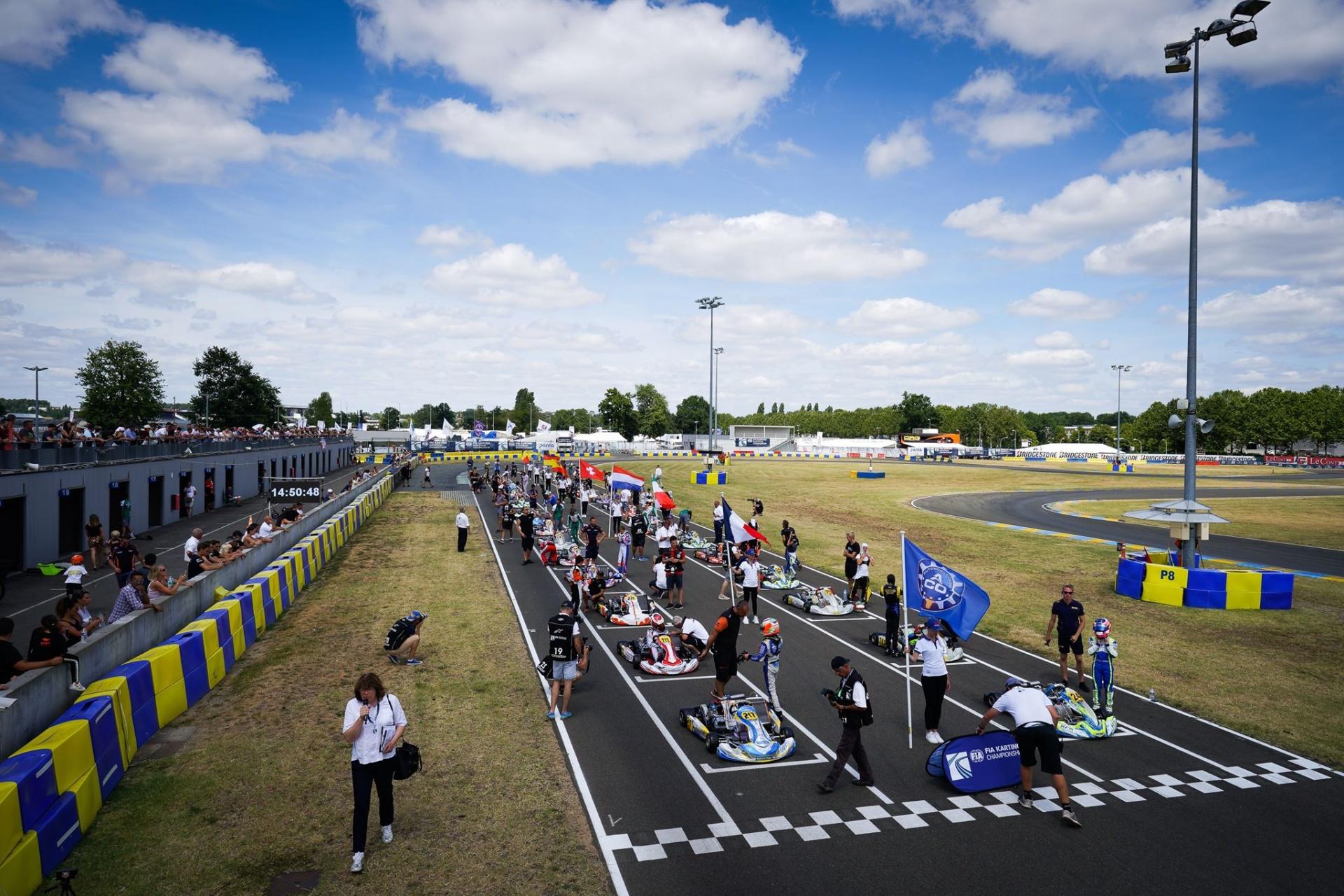 FIA Karting European Championship OK/OKJ – Zuera anteprima