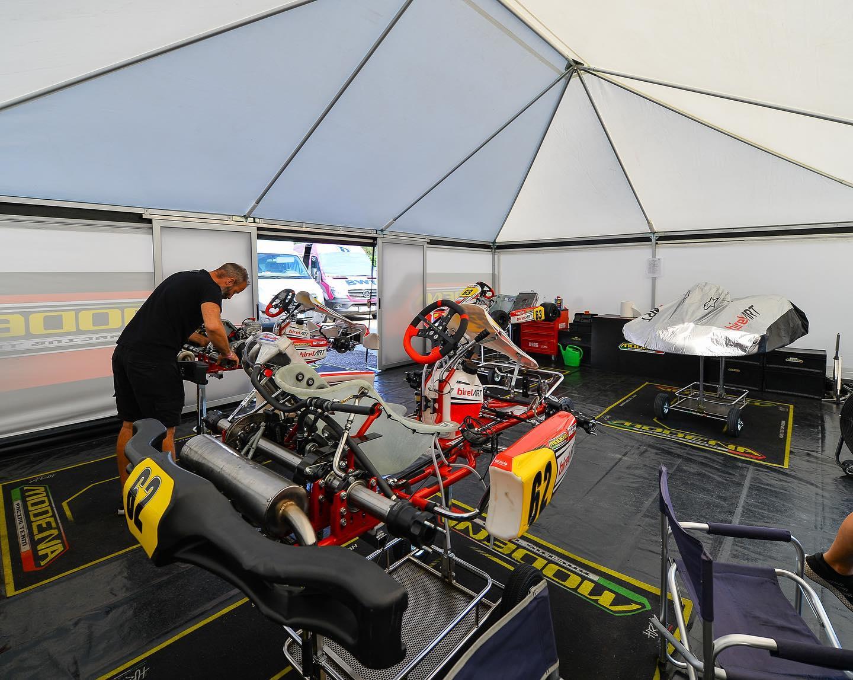 Fine settimana iridato ad alta tensione per Modena Kart