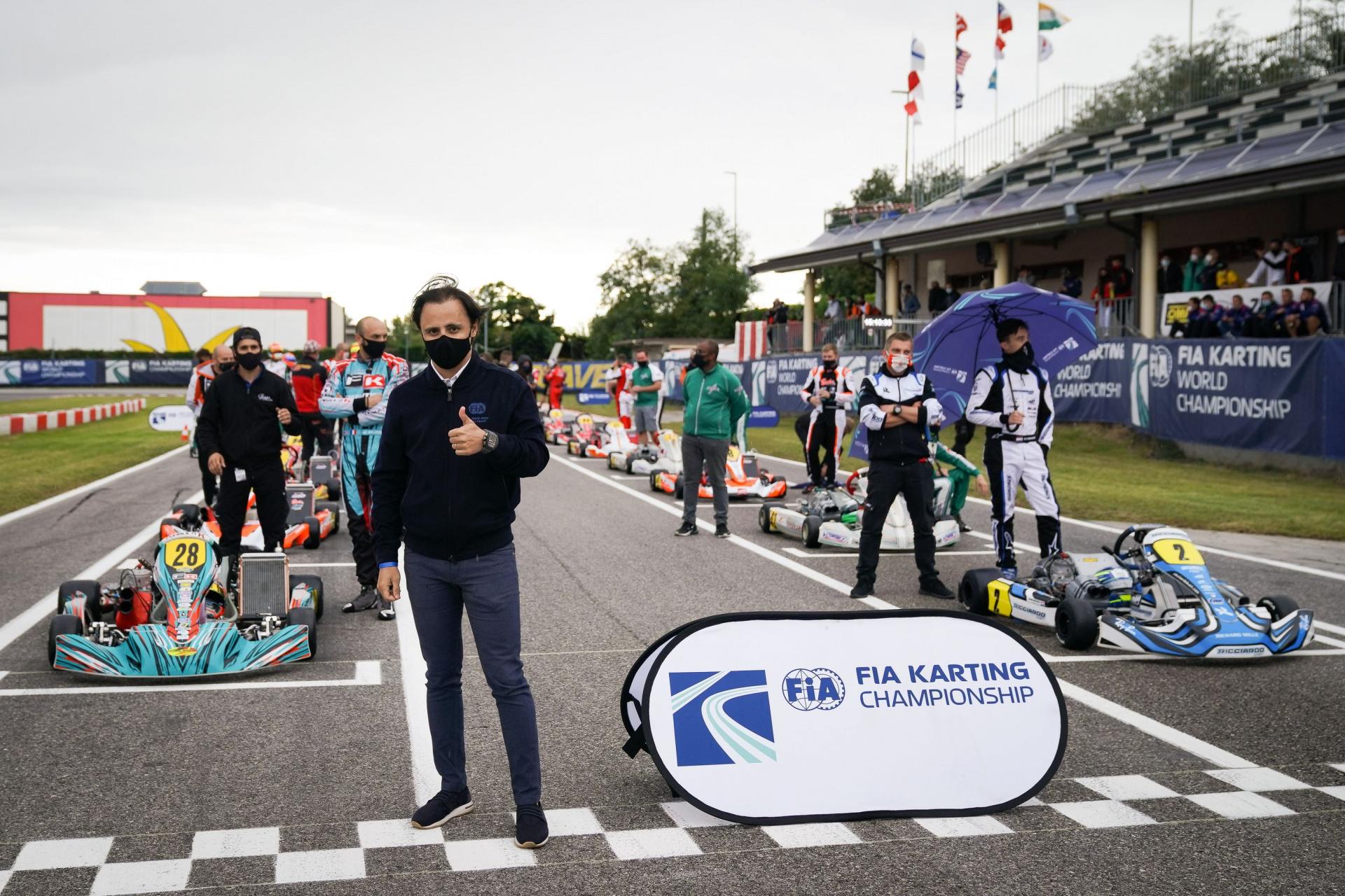 Felipe Massa: «FIA Karting è più attenta che mai, manteniamo l'entusiasmo per la nuova stagione»