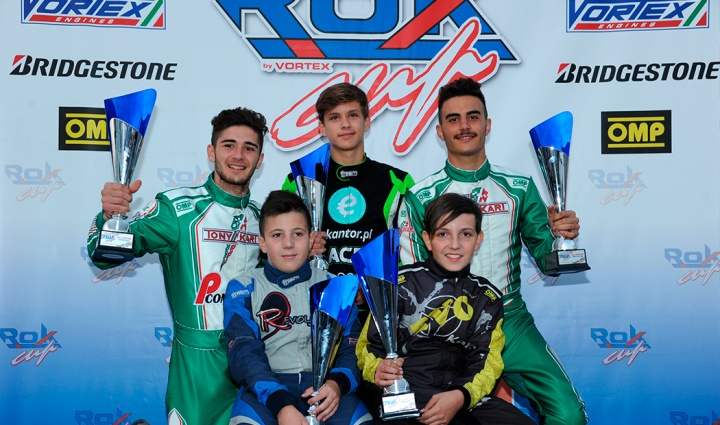 ROK Cup International Final – I polemen e vincitori delle heats