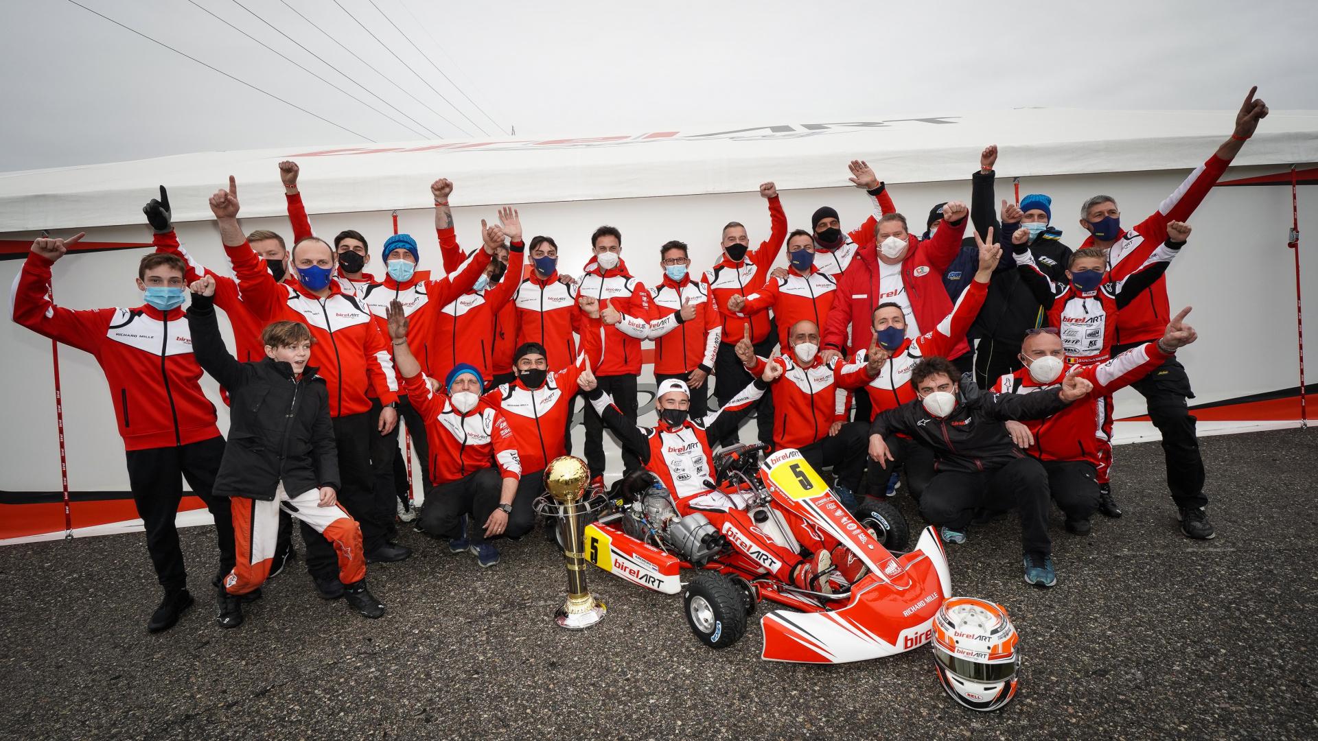 Nuova vittoria KZ2 e un eccellente livello di performance a Lonato.