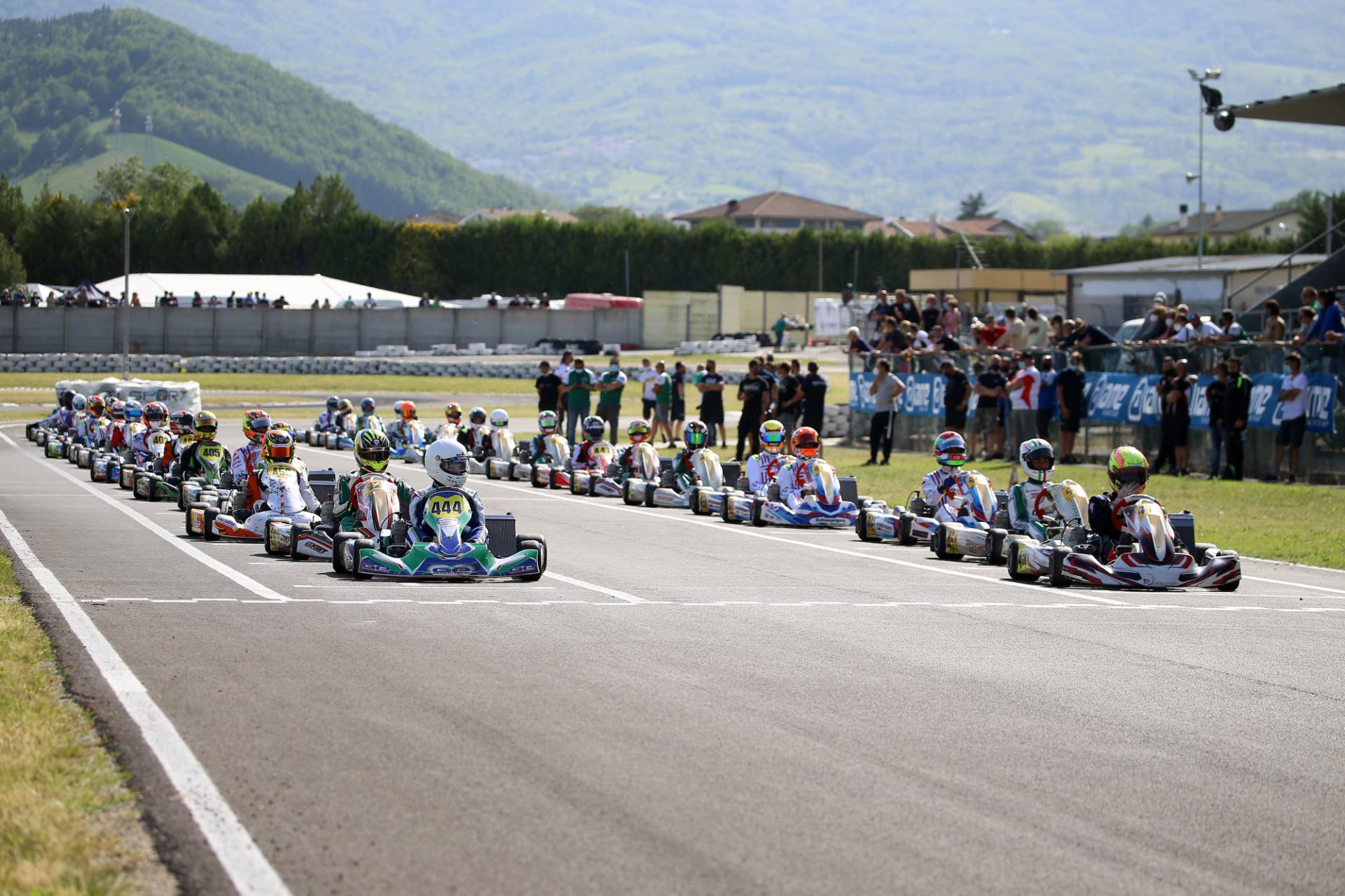 Le classifiche del Campionato Italiano ACI Karting alla vigilia della quarta prova di Siena