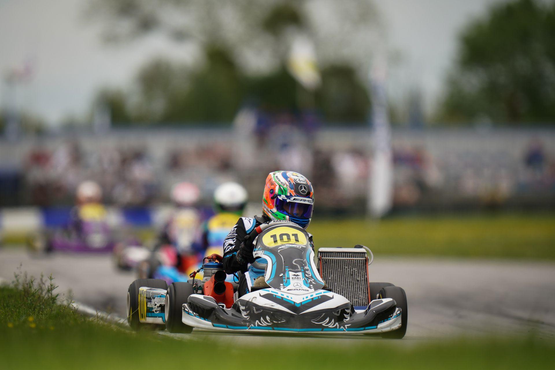 FIA Karting European Championship, Essay – Ferreira e Antonelli vincono le finali