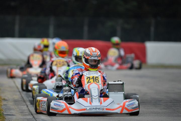 Bentornato Lorenzo. All'Europeo Ferrari di nuovo in pista dopo l'incidente