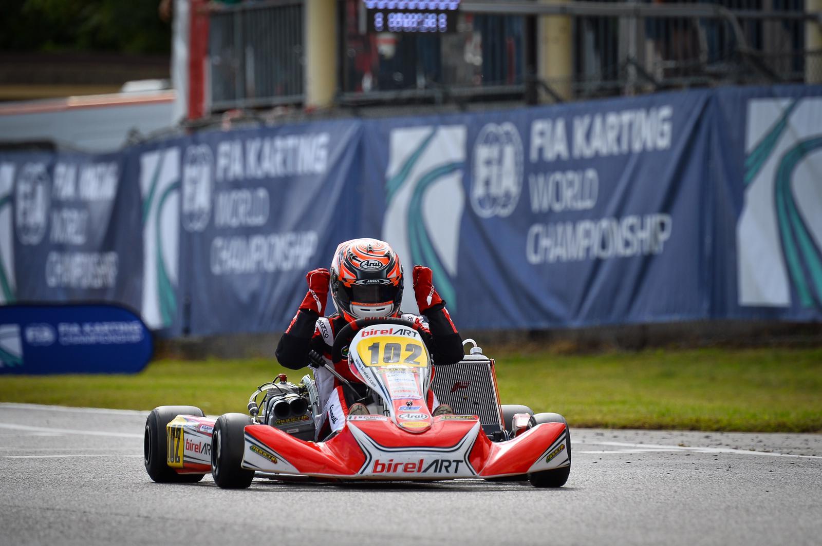 Modena Kart Campione con Cunati, vittoria nell'International Super Cup KZ2