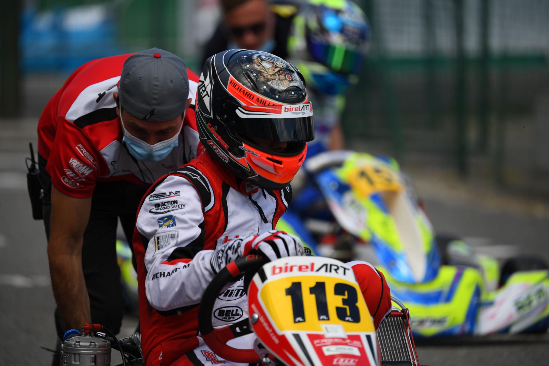 Bertuca fa tappa sul tracciato di Adria per il secondo round WSK Euro Series