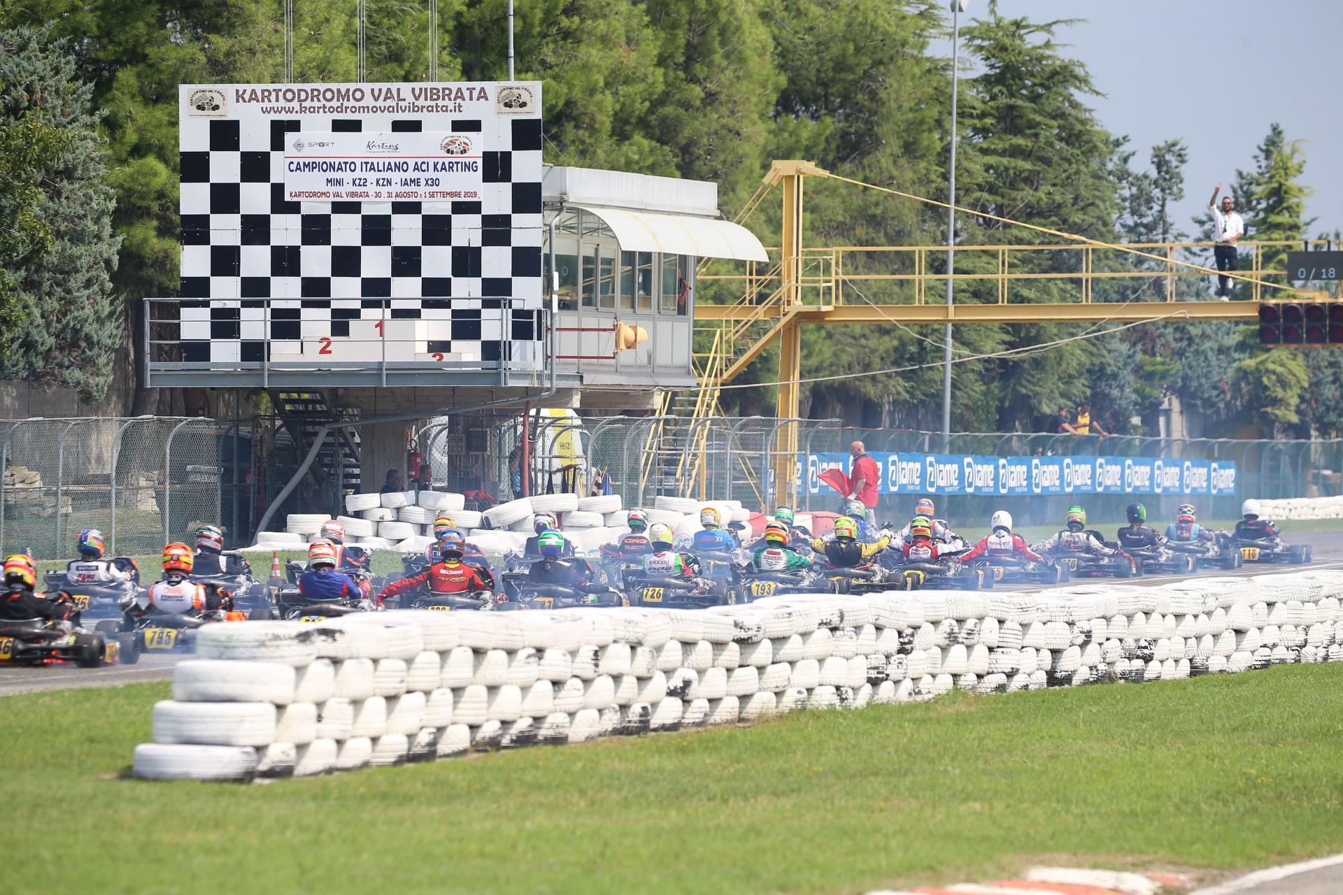 Il Campionato Italiano ACI Karting 2020 prende forma