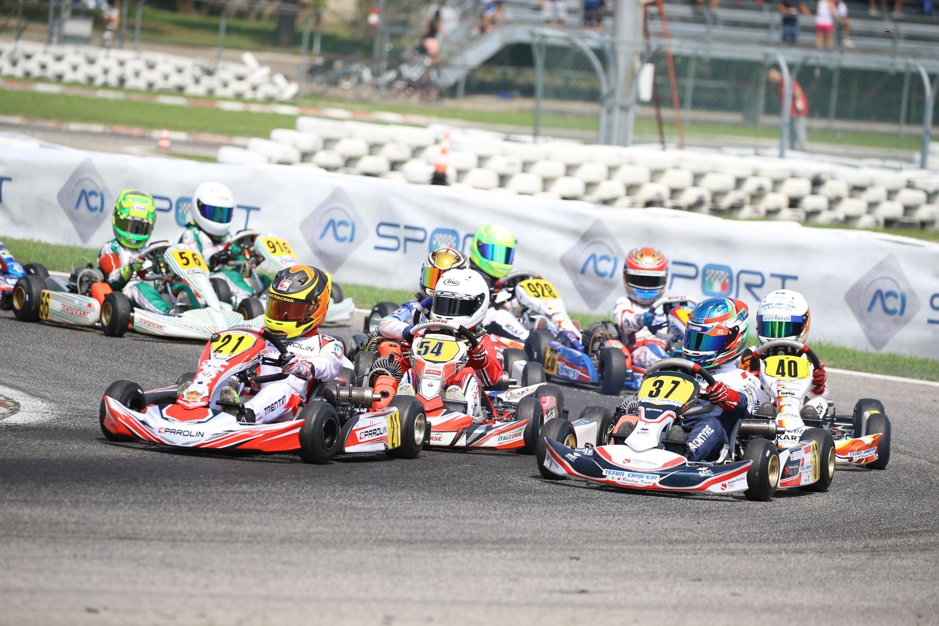 Campionato Italiano ACI Karting 2020: tutte le validità, le date, le piste e le categorie