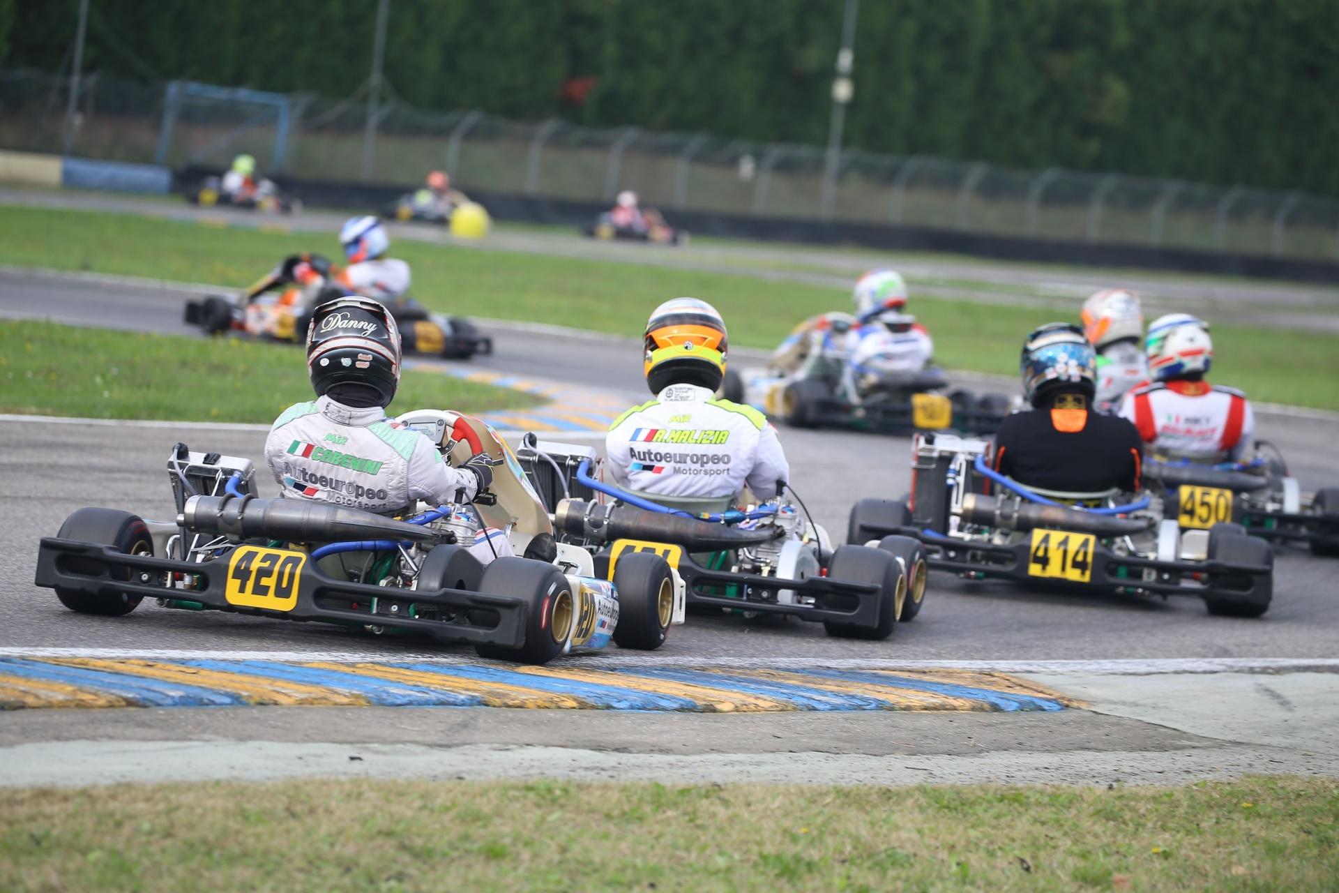 Il Trofeo Nazionale ACI Karting anticipato al 29 novembre ad Arce