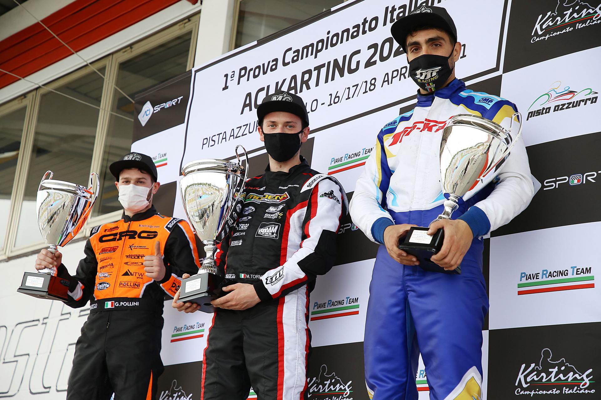 Il tricolore ACI Karting fa tappa ad Adria, con lo sguardo verso il Campionato Europeo KZ