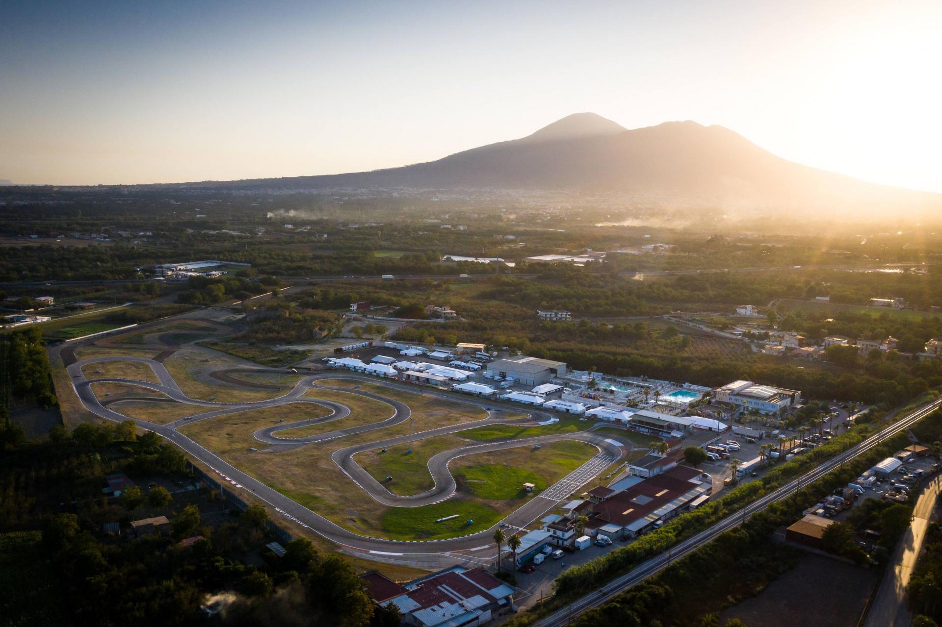 Estate rovente a Sarno per il terzo round del Campionato Europeo FIA